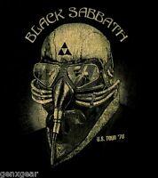 BLACK SABBATH cd cvr Never Say Die US TOUR 1978 Official SHIRT SMALL new