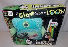 Glo Glo Inkoos Glow In the Dark Blue Alien Plush Markers
