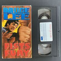 Bruce Lee - Fist Of Fury - 1991 VHS - Tested Plays Great!
