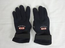 Body Glove 3mm Ex3 Five Finger Glove ~ Large
