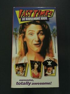 FAST TIMES AT RIDGEMONT HIGH ON VHS