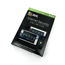 AVG Internet Security Unlimited Devices Windows, Mac, Android 1 Year #7803