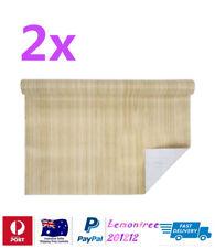 2x Self Adhesive Vinyl Contact Paper Light Woodgrain Colour