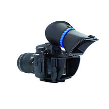 """3"""" 3.0X LCD Viewfinder Extender Magnetic  Hood Loupes For Canon 5D 7D 600D 60D"""