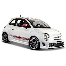 Véhicules miniatures blancs Bburago pour Fiat
