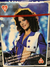 1981 Dallas Cowboys Cheerleaders Playing Cards Sealed Cameo Game Action Color