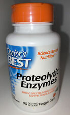 Doctor's Best Proteolytic Enzymes 90 Delayed Release Veggie Caps Exp 3/23