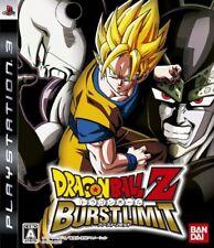 UsedGame PS3 Dragon Ball Z Burst Limit [Japan Import] FreeShipping