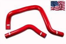Honda Civic Type R B16A/B DC2 EK4 EK9 EG6 EG9 Silicone Radiator Hose Kit Red