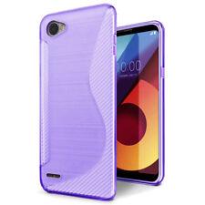 For LG Q6 / Q6 Plus / Q6a S-Line Soft Gel TPU Silicone Case Cover Skin