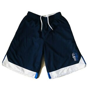 AIR JORDAN/NIKE Vintage Reversible Mens Navy/Blue/White Basketball Shorts M