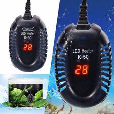 220V Mini Aquarium Fish Tank LED Digital Water Heater Submersible Thermostat