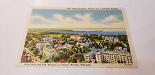 Madison, WI Northwest View University Bldgs 1940 c1940s Linen Postcard Unused!