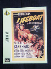 """1"" SUPER CINEMA - DUE EMME "" TRADE CARD""-  LIFEBOAT  - ALFRED HITCHCOCK"