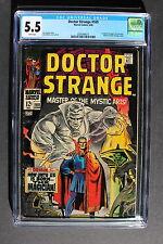DOCTOR STRANGE #169 ORIGIN 1st Solo Series Begins 1968 Adkins MOVIE CGC FN- 5.5