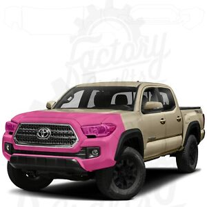 Paint Protection Film Clear PPF for Toyota Tacoma 16-20 Bumper Grille Hood Light
