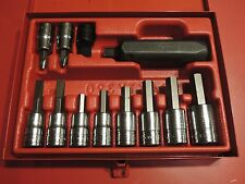 Snap On PIT312OEB 1/2 Drive Impact Driver Set in a Case - NEW