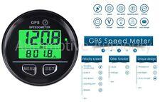 GPS Speedometer Gauge Odometer Battery Meter Digital Dash 60mm 12v 24v