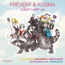 Prevert/Kosma, Chansons , Nouveauté