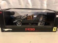Hotwheels Ferrari Elite F430 Grey Spider 1/18 Mattel RARE 430 J8245