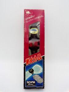 '84 Takara Japan Pre Transformers Diaclone Watch-Q Dash RED GT 300zx NMIB Read
