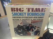 Big Time Soundtrack vinyl LP EX 1977 Motown in shrink Smokey Robinson