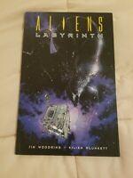 Aliens Labyrinth Paperback Jim Woodring Kilian Plunkett Dark Horse Comics TB TPB