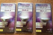 x3 livarnolux led lampe led light bulb GU5.3