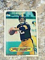 1983 Topps Sticker Terry Bradshaw #5 Pittsburgh Steelers HOF NFL Football Card