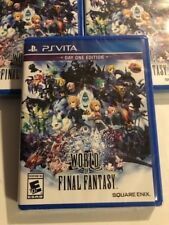 World of Final Fantasy Day One Edition PlayStation Vita Brand New Factory Sealed