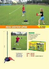 OUTDOOR PLAY JC-942A Mini Rotor Spin Kids Totem Tennis Practice Swingball Game