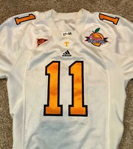 Authentic Game Worn / Used Tennessee Volunteers Jersey