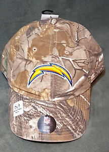47 Brand San Diego Chargers Camo Realtree Hunting Football Hat Cap Adjustable