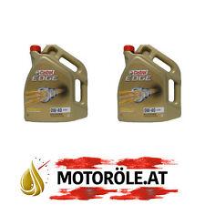 10 (2x5) Liter Castrol Edge Titanium FST 0W-40 A3/B4 Motoröl, VW 502 00/ 505 00