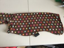 dog Snood jumper fleece house coat whippet italian lurcher brown multi spot 22""