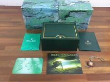 Rolex Submariner 16610 Watch Box set Booklets Tag Calendar etc FREE SHIPPING