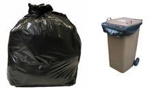100 Strong Bin Bags Full Bin Size Wheelie Bin Liner 1168 X 1295mm Bin Bag 240l