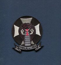HMLA-169 VIPERS USMC MARINE CORPS HUEY COBRA BLK Helicopter Squadron Patch