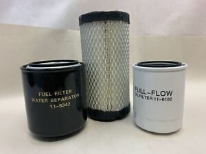 Oil Change Kit 3 filters Maintenance Kit for Thermo King Tripac APU or Evolution