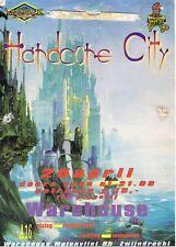 HARDCORE CITY Rave Flyer A4 year unknown The Warehouse Zwijndrecht Netherlands
