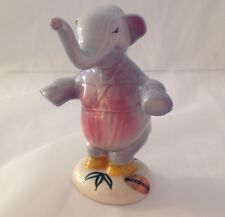 Disney Fantasia Elephant - American Pottery Com., Evan K. Shaw Figurine & Label