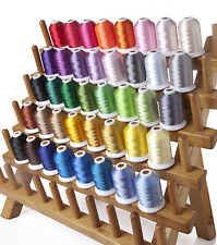 SIMTHREAD 40WT Polyester Embroidery Home Machine Thread - 40 Colors, 1000M/pc