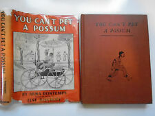 You Can't Pet a Possum, Arna Bontemps, Ilse Bischoff, DJ, 4th Print, 1946, RARE