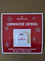 Hallmark North Pole Communicator Refill Cartridge 2019 New Sealed