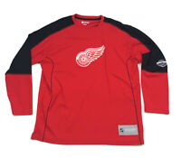 Detroit Red Wings Exclusive Club Collection Hockey Jersey NHL Men's XL