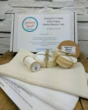 Makeup Remover Pad / Wipe Sewing Kit. Make your own 100% Organic Makeup Wipes