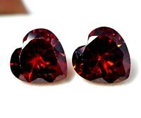 Details about  /TANZANIAN ZIRCON HEART SHAPE PAIR 11.85 CT NATURAL LOOSE GEMSTONE