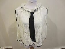 Ay Not Dead Lace top $99.