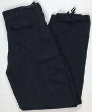Tactical Military Pants Atlanco L Long Black Uniform 32-35 inseam 35-39 waist
