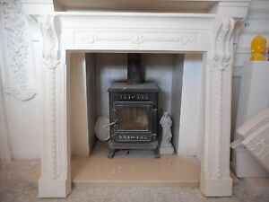 F28 Regency Fire Surround in Plaster - BIRMINGHAM COLLECTION ONLY
